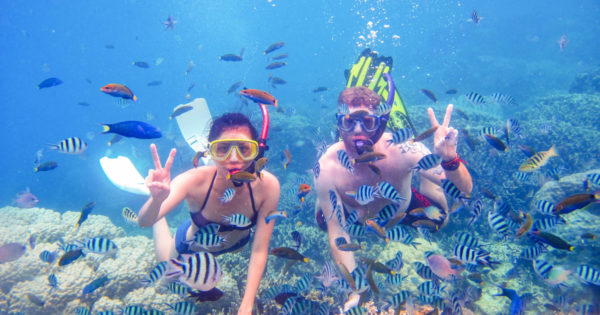 snorkeling pangandaran